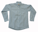Boys Long Sleeve Oxford Cloth Shirt