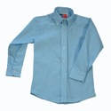 Boys Oxford Cloth LS SVDP